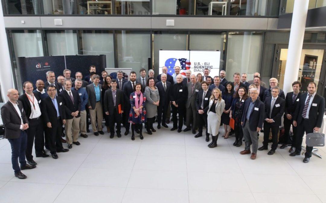 V ELI proběhly evropsko-americké rozhovory o spolupráci ve využití laserů